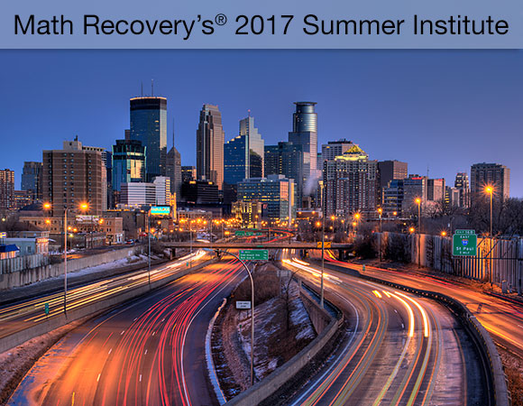 2017 US Math Recovery® Summer Institute