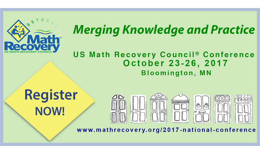 2017 Math Recovery® Conference Registration